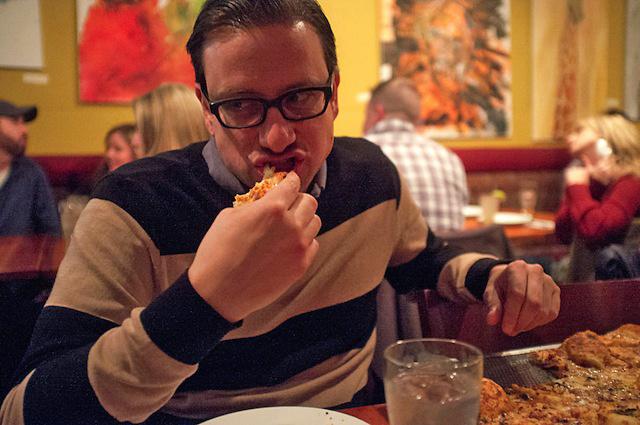 mangia solo pizza