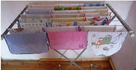 Non Asciugare I Panni Dentro Casa. Gli Effetti Possono Essere Molto Pericolosi