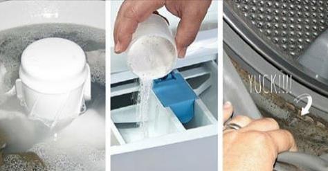 4 trucchi per la manutenzione e la pulizia della lavatrice for Manutenzione lavatrice